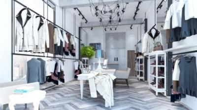 Thiết kế và thi công shop thời trang chị Chi