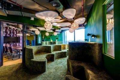 Những thiết kế văn phòng ấn tượng của google tại tel aviv