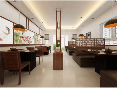 Nổi Trội Với Thiết kế nội thất nhà hàng sang trọng phong cách Nhật
