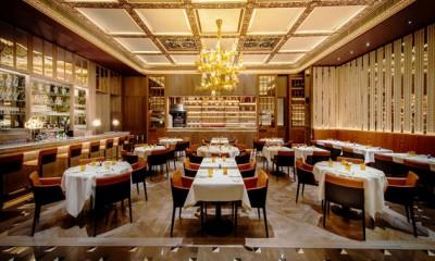 Nhà hàng độc đáo với thiết kế nội thất Tân cổ điển