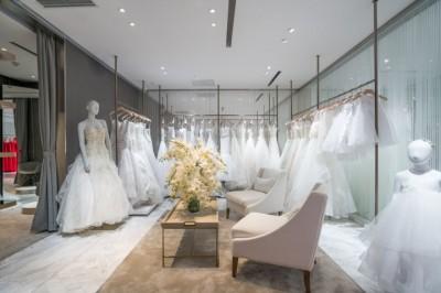 Thiết kế nội thất showroom áo cưới và những điều cần chú ý
