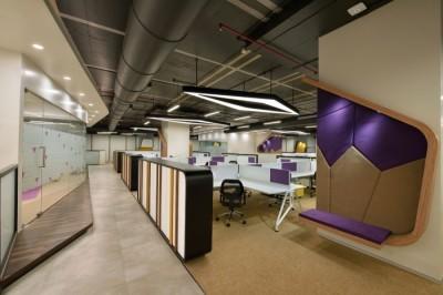 Những màu sắc nên hạn chế dùng trong thiết kế văn phòng công ty