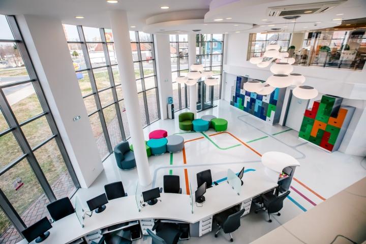 Thiết kế văn phòng trung tâm dịch vụ y tế