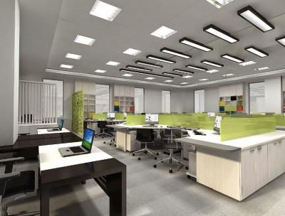 Sử dụng trần thạch cao để thi công nội thất văn phòng