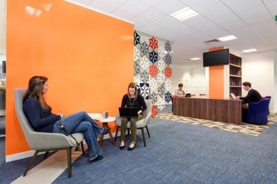 Thiết kế thi công nội thất văn phòng Gigamon