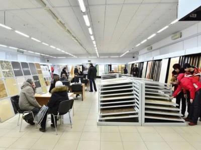 Cách thiết kế showroom trưng bày gạch men ấn tượng