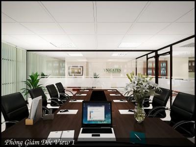 Thiết kế nội thất văn phòng luật sư chưa tới 200 triệu