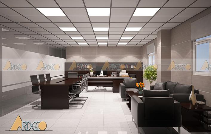 Thiết kế văn phòng công ty Nano hightech