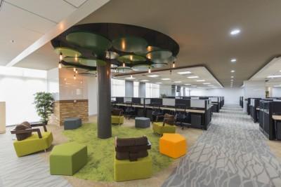 5 mẫu thiết kế văn phòng đơn giản dạng modul