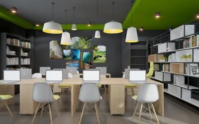 6 mẫu thiết kế văn phòng làm việc hiện đại