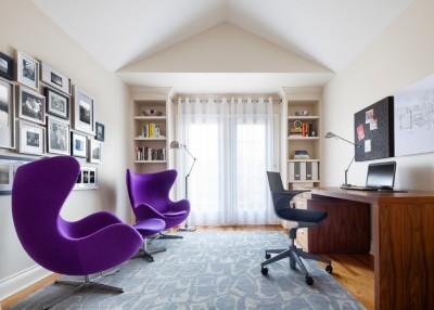 Mẫu thiết kế phòng làm việc theo phong cách đương đại
