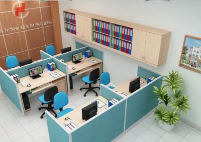 10 mẫu văn phòng làm việc nhỏ với diện tích chỉ 25m2