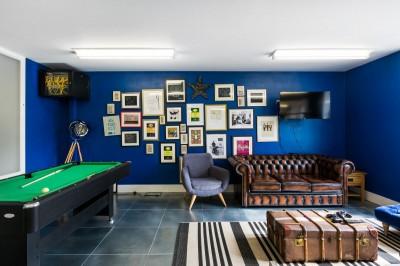 Thiết kế phòng làm việc kết hợp với không gian giải trí