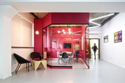 Ngắm văn phòng làm việc công nghiệp đầy màu sắc ở Armenia