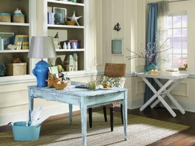 8 mẫu thiết kế phòng làm việc theo phong cách Shabby Chic