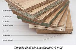Tìm hiểu về gỗ công nghiệp MFC và MDF
