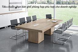Tiêu chuẩn chọn bàn ghế phòng họp phù hợp cho doanh nghiệp