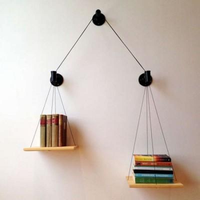 Những ý tưởng sử dụng kệ treo tường đầy ấn tượng cho phòng làm việc