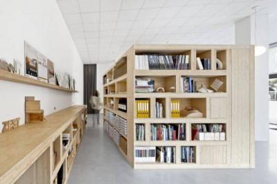 Ý tưởng thiết kế phòng làm việc chia sẻ của Zest Architecture