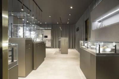 Thiết kế showroom trang sức sang trọng, đẳng cấp