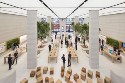 Chiêm ngưỡng thiết kế showroom ấn tượng của Apple Store tại London