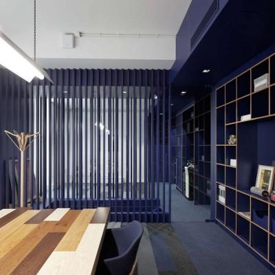 Mẫu thiết kế văn phòng kết hợp với showroom trưng bày