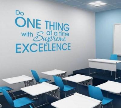 Trang trí văn phòng với tranh chữ slogan