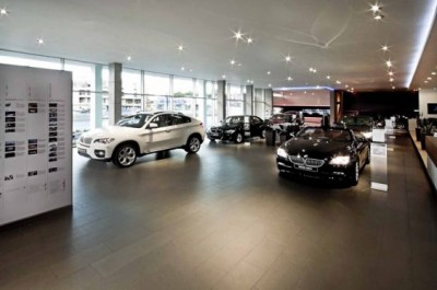 Ngắm mẫu thiết kế nội thất showroom ô tô vô cùng cuốn hút