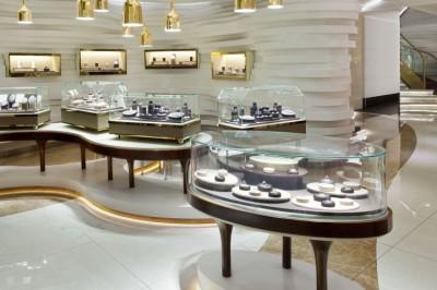 Thiết kế showroom trang sức tại Hà Nội