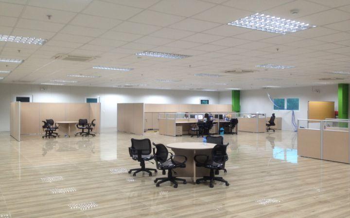 Thiết kế thi công nội thất văn phòng công ty TNHH KOS Hà Nội