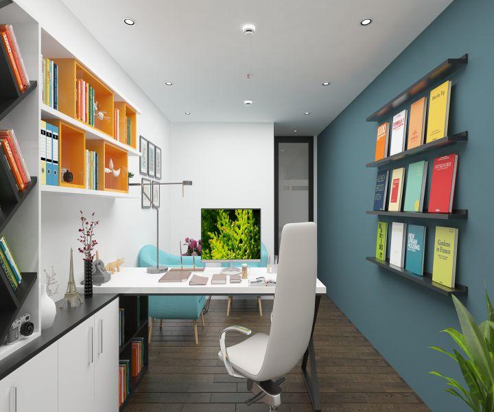 Thiết kế thi công nội thất văn phòng chị Hiền - Lê Văn Lương