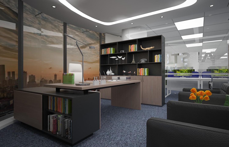 Thiết kế thi công nội thất văn phòng công ty TNHH ALSTOM Việt Nam