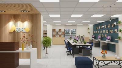 Thiết kế thi công nội thất văn phòng công ty cổ phần kiến trúc và đầu tư XDCT Ardeco