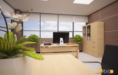 Thiết kế thi công nội thất văn phòng công ty TNHH SUNG IL VINA Bắc Ninh