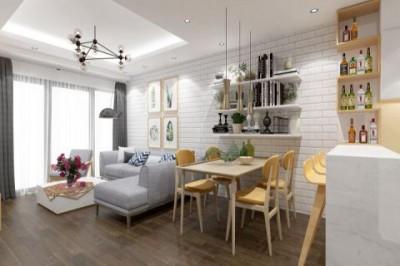 Dự án thiết kế thi công nội thất chung cư anh Phương - chị Hoa