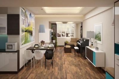 Dự án thiết kế nội thất chung cư Time City chuyên nghiệp ấn tượng
