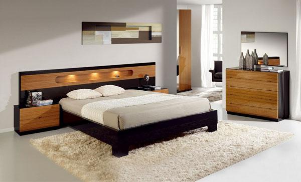 Mẫu giường gỗ đẹp GN07