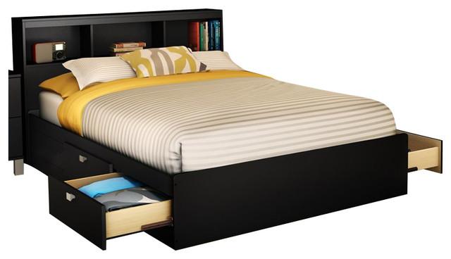 Giường ngủ gỗ cao cấp có ngăn