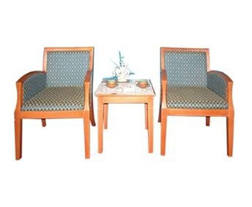 Bàn ghế khách sạn BKS 01+GKS 01