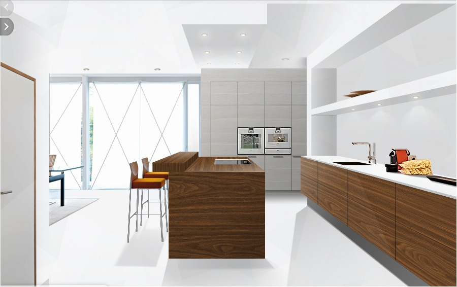 Mẫu tủ bếp số 4 TB-04