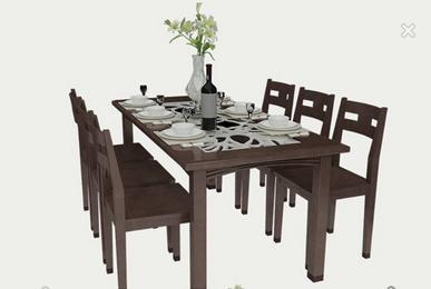 Bộ bàn ăn BA001