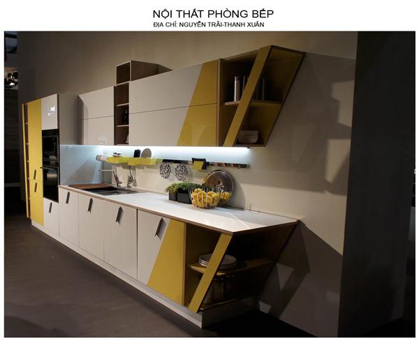 Mẫu tủ bếp số 13 TB-13