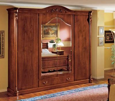 Tủ đựng quần áo gỗ cao cấp 06