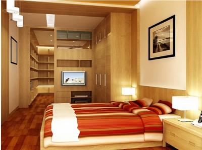 Giường ngủ gỗ sồi trằng GN03