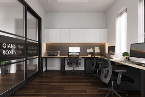 Thiết kế văn phòng tại Vin Ocean Park